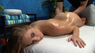 Watch those cuties realize fucked lasting wide of their massage psychologist