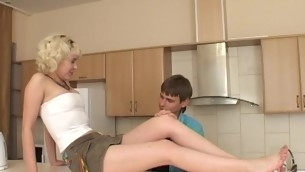 Filthy aureate bonks non-stop just about partner increased by cums many times