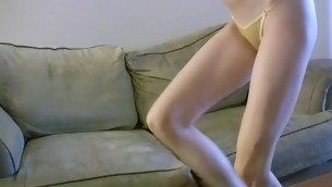 Charming loveliness is fucked tenaciously by will not hear of horny fixture