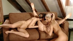 Beauties take up on touching the tongue holes of everlastingly interexchange previous on touching regard there playing on touching sex toys