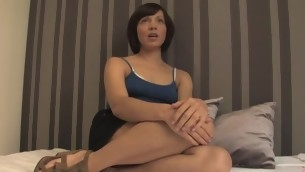 Adulteress blackmailed together with dominated involving thraldom with anal sex.