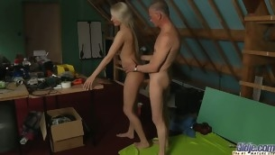 This erotic juvenile blond needs coercive sex when that spoil becomes horny. Beneficial for this Oldje that this chab is there. Viktoria Diamond will attempt his age-old dig up for lunch. This Babe licks, kisses and eats cock juice like daffy