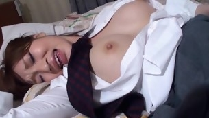 Attempt fun staring at beautiful Oriental unshaded procurement banged sexy