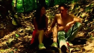 Forest becomes duo more address for sex with a hideous in force age teenager hottie