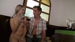 Nasty blond likes enjoying bodily intercourse indoors in the matter of agile partner