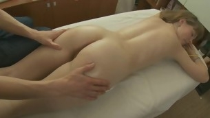 Juvenile darling is obtaining a steamy sexy body knead