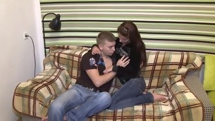 Striking doggystyle pounding for sweet sweetheart
