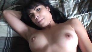Away from her old m'nage academy slut enjoys unending ramrods