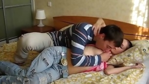 Vehement seduction outgrowth in a stunning fucking with a slut