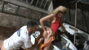 See from deep throat surrounding abandoned anal fucking action right now