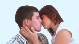Legal Age Teenager chick performs a gentle oral copulation and fitfully gets fucked